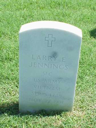 JENNINGS (VETERAN VIET), LARRY E - Pulaski County, Arkansas | LARRY E JENNINGS (VETERAN VIET) - Arkansas Gravestone Photos