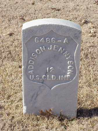 JENNYSON (VETERAN UNION), ADDISON - Pulaski County, Arkansas | ADDISON JENNYSON (VETERAN UNION) - Arkansas Gravestone Photos