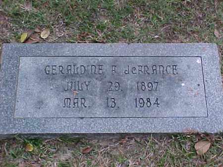 JERRANCE, GERALDINE A - Pulaski County, Arkansas | GERALDINE A JERRANCE - Arkansas Gravestone Photos