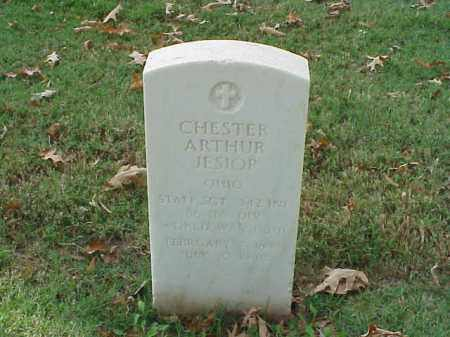 JESIOP (VETERAN 2 WARS), CHESTER ARTHUR - Pulaski County, Arkansas | CHESTER ARTHUR JESIOP (VETERAN 2 WARS) - Arkansas Gravestone Photos