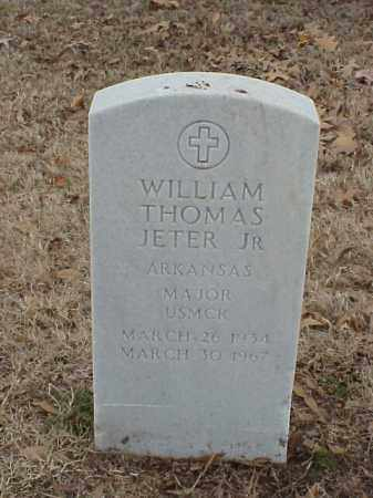 JETER, JR (VETERAN), WILLIAM THOMAS - Pulaski County, Arkansas | WILLIAM THOMAS JETER, JR (VETERAN) - Arkansas Gravestone Photos