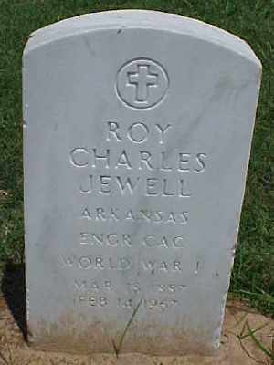 JEWELL (VETERAN WWI), ROY CHARLES - Pulaski County, Arkansas | ROY CHARLES JEWELL (VETERAN WWI) - Arkansas Gravestone Photos