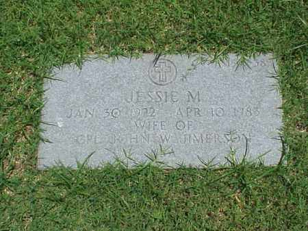 JIMERSON, JESSIE M - Pulaski County, Arkansas | JESSIE M JIMERSON - Arkansas Gravestone Photos