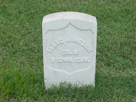 JIMESON (VETERAN UNION), ISAAC - Pulaski County, Arkansas | ISAAC JIMESON (VETERAN UNION) - Arkansas Gravestone Photos