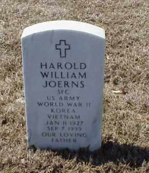 JOERNS (VETERAN 3 WARS), HAROLD WILLIAM - Pulaski County, Arkansas | HAROLD WILLIAM JOERNS (VETERAN 3 WARS) - Arkansas Gravestone Photos