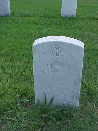 JOHANSON (VETERAN WWII), ERIC J - Pulaski County, Arkansas | ERIC J JOHANSON (VETERAN WWII) - Arkansas Gravestone Photos