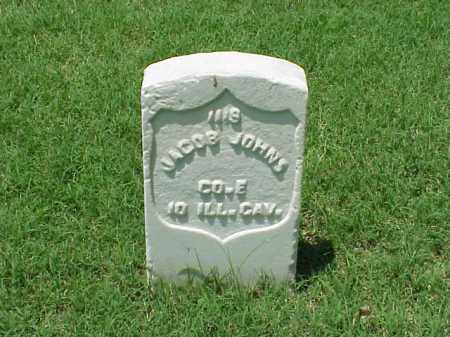 JOHNS (VETERAN UNION), JACOB - Pulaski County, Arkansas | JACOB JOHNS (VETERAN UNION) - Arkansas Gravestone Photos