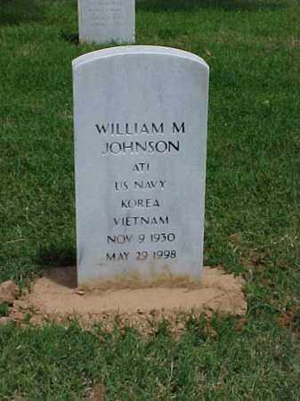JOHNSON (VETERAN 2 WARS), WILLIAM M - Pulaski County, Arkansas | WILLIAM M JOHNSON (VETERAN 2 WARS) - Arkansas Gravestone Photos