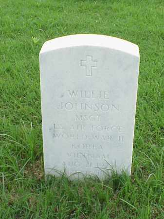JOHNSON (VETERAN 3 WARS), WILLIE - Pulaski County, Arkansas | WILLIE JOHNSON (VETERAN 3 WARS) - Arkansas Gravestone Photos
