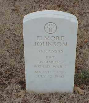 JOHNSON (VETERAN WWI), ELMORE - Pulaski County, Arkansas | ELMORE JOHNSON (VETERAN WWI) - Arkansas Gravestone Photos