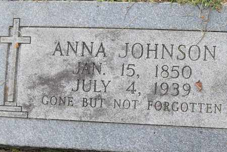 JOHNSON, ANNA - Pulaski County, Arkansas | ANNA JOHNSON - Arkansas Gravestone Photos