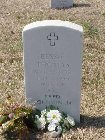 THOMAS JOHNSON, BESSIE - Pulaski County, Arkansas | BESSIE THOMAS JOHNSON - Arkansas Gravestone Photos