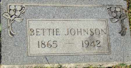 JOHNSON, BETTIE - Pulaski County, Arkansas | BETTIE JOHNSON - Arkansas Gravestone Photos