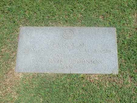 JOHNSON, CARLA M - Pulaski County, Arkansas | CARLA M JOHNSON - Arkansas Gravestone Photos