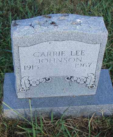 JOHNSON, CARRIE LEE - Pulaski County, Arkansas | CARRIE LEE JOHNSON - Arkansas Gravestone Photos