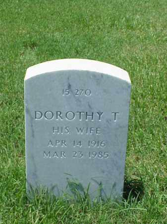 JOHNSON, DOROTHY T - Pulaski County, Arkansas | DOROTHY T JOHNSON - Arkansas Gravestone Photos