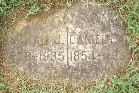 JOHNSON, DANIEL B. - Pulaski County, Arkansas | DANIEL B. JOHNSON - Arkansas Gravestone Photos