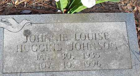 HUGGINS JOHNSON, JOHNNIE LOUISE - Pulaski County, Arkansas | JOHNNIE LOUISE HUGGINS JOHNSON - Arkansas Gravestone Photos