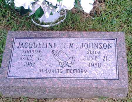 "JOHNSON, JACQUELINE ""J. M."" - Pulaski County, Arkansas | JACQUELINE ""J. M."" JOHNSON - Arkansas Gravestone Photos"
