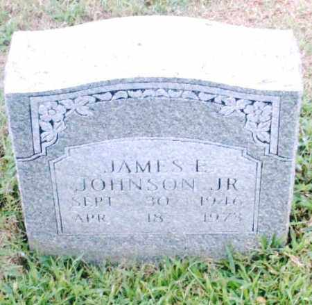 JOHNSON, JR., JAMES E. - Pulaski County, Arkansas | JAMES E. JOHNSON, JR. - Arkansas Gravestone Photos