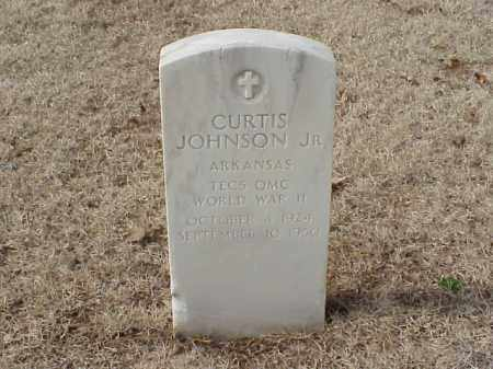 JOHNSON, JR (VETERAN WWII), CURTIS - Pulaski County, Arkansas | CURTIS JOHNSON, JR (VETERAN WWII) - Arkansas Gravestone Photos