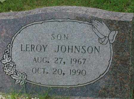JOHNSON, LEROY - Pulaski County, Arkansas | LEROY JOHNSON - Arkansas Gravestone Photos
