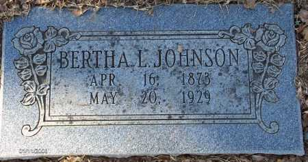 HUDSON JOHNSON, LORA BERTHA LEE - Pulaski County, Arkansas | LORA BERTHA LEE HUDSON JOHNSON - Arkansas Gravestone Photos