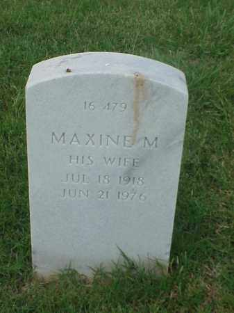 JOHNSON, MAXINE M - Pulaski County, Arkansas | MAXINE M JOHNSON - Arkansas Gravestone Photos
