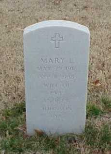 JOHNSON, MARY L. - Pulaski County, Arkansas   MARY L. JOHNSON - Arkansas Gravestone Photos