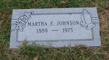 JOHNSON, MARTHA E. - Pulaski County, Arkansas | MARTHA E. JOHNSON - Arkansas Gravestone Photos
