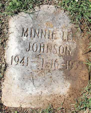 JOHNSON, MINNIE LEE - Pulaski County, Arkansas | MINNIE LEE JOHNSON - Arkansas Gravestone Photos