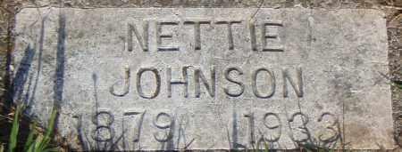 JOHNSON, NETTIE - Pulaski County, Arkansas | NETTIE JOHNSON - Arkansas Gravestone Photos