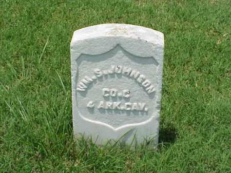 JOHNSON (VETERAN UNION), WM S - Pulaski County, Arkansas | WM S JOHNSON (VETERAN UNION) - Arkansas Gravestone Photos