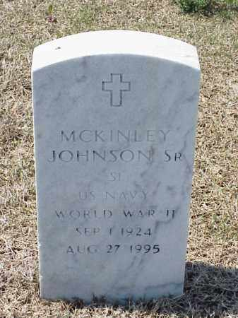 JOHNSON, SR (VETERAN WWII), MCKINLEY - Pulaski County, Arkansas | MCKINLEY JOHNSON, SR (VETERAN WWII) - Arkansas Gravestone Photos