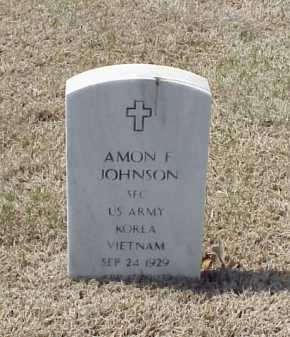 JOHNSON (VETERAN 2 WARS), AMON F - Pulaski County, Arkansas | AMON F JOHNSON (VETERAN 2 WARS) - Arkansas Gravestone Photos