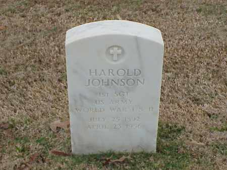 JOHNSON (VETERAN 2 WARS), HAROLD - Pulaski County, Arkansas | HAROLD JOHNSON (VETERAN 2 WARS) - Arkansas Gravestone Photos