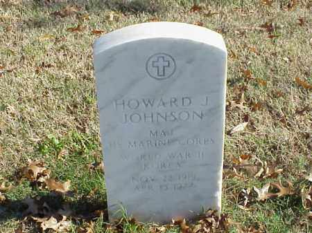 JOHNSON (VETERAN 2 WARS), HOWARD J - Pulaski County, Arkansas | HOWARD J JOHNSON (VETERAN 2 WARS) - Arkansas Gravestone Photos