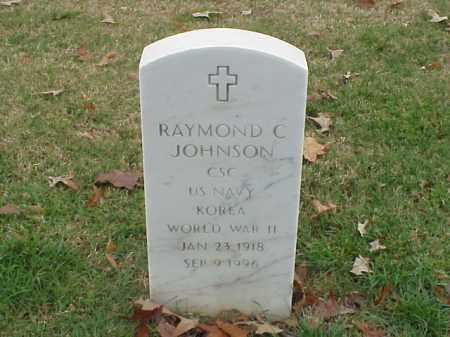 JOHNSON (VETERAN 2 WARS), RAYMOND C - Pulaski County, Arkansas | RAYMOND C JOHNSON (VETERAN 2 WARS) - Arkansas Gravestone Photos