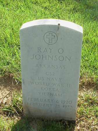 JOHNSON (VETERAN 3 WARS), RAY O - Pulaski County, Arkansas | RAY O JOHNSON (VETERAN 3 WARS) - Arkansas Gravestone Photos