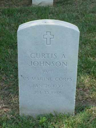 JOHNSON (VETERAN), CURTIS A - Pulaski County, Arkansas | CURTIS A JOHNSON (VETERAN) - Arkansas Gravestone Photos