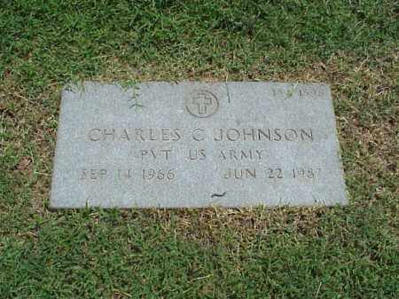 JOHNSON (VETERAN), CHARLES C - Pulaski County, Arkansas | CHARLES C JOHNSON (VETERAN) - Arkansas Gravestone Photos