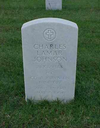 JOHNSON (VETERAN), CHARLES LAMAR - Pulaski County, Arkansas | CHARLES LAMAR JOHNSON (VETERAN) - Arkansas Gravestone Photos