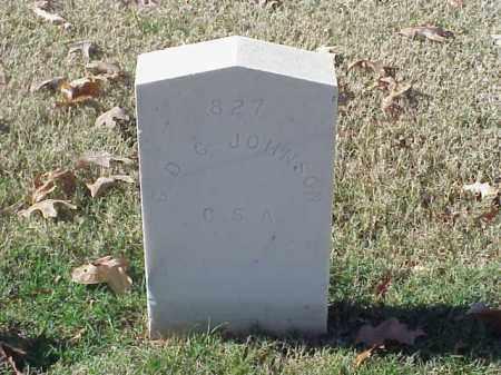 JOHNSON (VETERAN CSA), C D C - Pulaski County, Arkansas | C D C JOHNSON (VETERAN CSA) - Arkansas Gravestone Photos