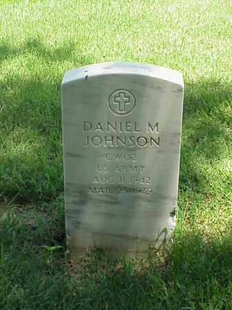 JOHNSON (VETERAN), DANIEL M - Pulaski County, Arkansas | DANIEL M JOHNSON (VETERAN) - Arkansas Gravestone Photos