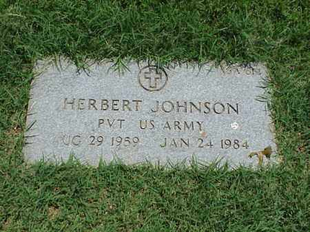 JOHNSON (VETERAN), HERBERT - Pulaski County, Arkansas | HERBERT JOHNSON (VETERAN) - Arkansas Gravestone Photos