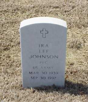 JOHNSON (VETERAN), IRA LEE - Pulaski County, Arkansas | IRA LEE JOHNSON (VETERAN) - Arkansas Gravestone Photos