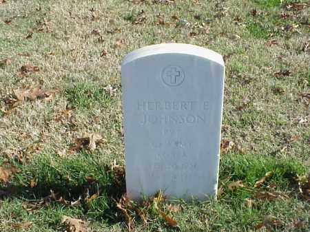 JOHNSON (VETERAN KOR), HERBERT E - Pulaski County, Arkansas | HERBERT E JOHNSON (VETERAN KOR) - Arkansas Gravestone Photos