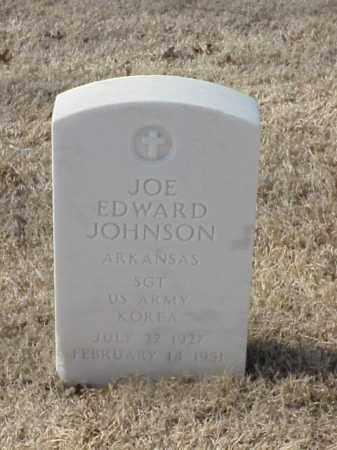 JOHNSON (VETERAN KOR), JOE EDWARD - Pulaski County, Arkansas   JOE EDWARD JOHNSON (VETERAN KOR) - Arkansas Gravestone Photos