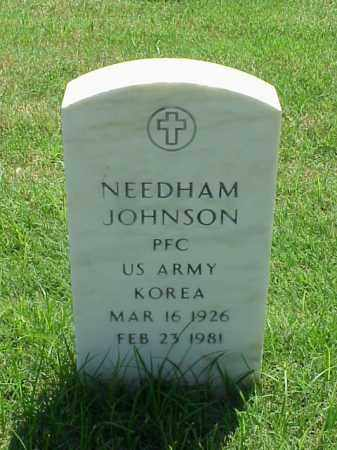 JOHNSON (VETERAN KOR), NEEDHAM - Pulaski County, Arkansas | NEEDHAM JOHNSON (VETERAN KOR) - Arkansas Gravestone Photos