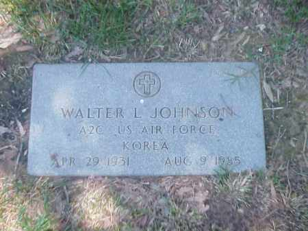 JOHNSON (VETERAN KOR), WALTER L - Pulaski County, Arkansas | WALTER L JOHNSON (VETERAN KOR) - Arkansas Gravestone Photos